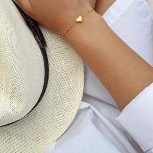 Hartje gold plated armband