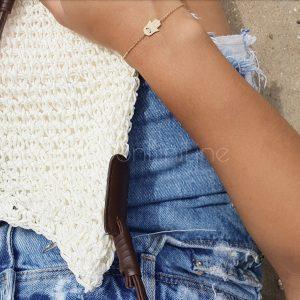 hand gold bracelet armband goud bonbini