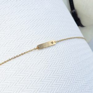 Hartje bar gold plated armband
